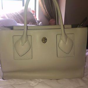 Anne Klein Creme purse